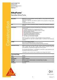 Bitumen Impregnated Boards - Sika Indonesia