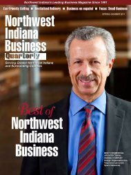 Spring 2011 - Northwest Indiana Business Quarterly Magazine