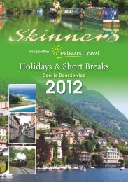 Full holiday brochure (pdf) - Palmers Travel