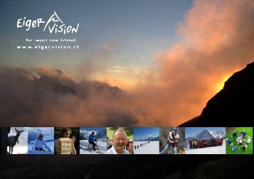 Auszug Angebot Eiger Vision - Hotel Belvedere Grindelwald