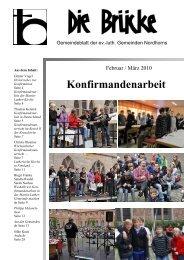 Februar-März 2010 - Lutherisch in Nordhorn