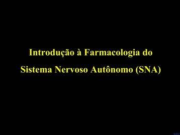 Introdução ao sistema nervoso autônomo - ICB