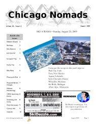 August 2009 - Chicago Nomads Ski Club