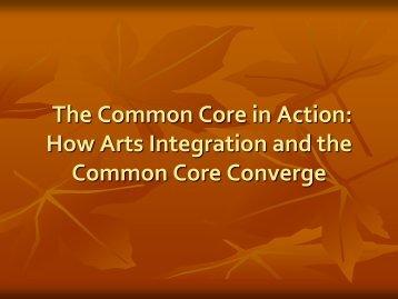 presentation slides - Arts Education Partnership