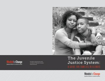 The Juvenile Justice System: - Illinois Children's Mental Health ...