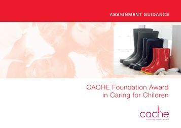 Cache assignment guidance