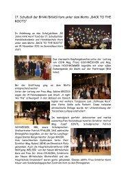 Bericht - BHAK/BHAS Horn