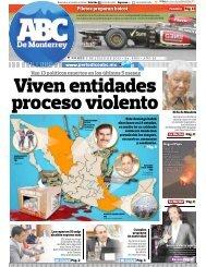Viven entidades proceso violento - Periodicoabc.mx