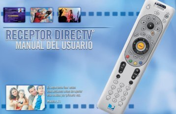 Decodificador DIRECTV®: Manual del usuario. Modelo L11