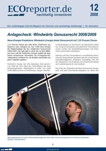pdf-Datei - ECOreporter.de