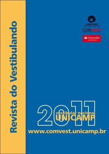 Revista do Vestibulando 2011 (versão em pdf - Unicamp