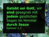 durch Jesus - FeG Wienhausen