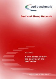 agri benchmark Beef & Sheep Network - Eblex