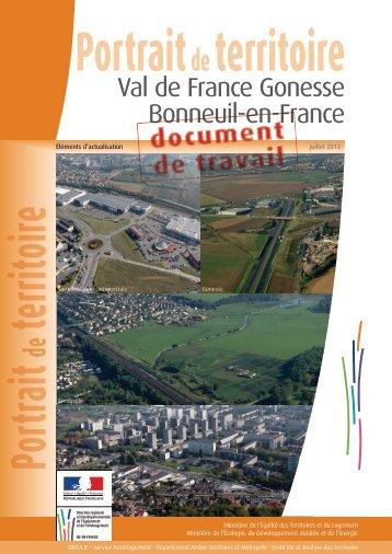 Portrait de Val-de-France - Gonesse - Bonneuil en France ... - Driea