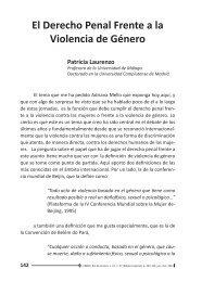 El Derecho Penal Frente a la Violencia de Género - Emerj