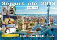 Catalogue des vacances : Séjours été 2013 - Gennevilliers