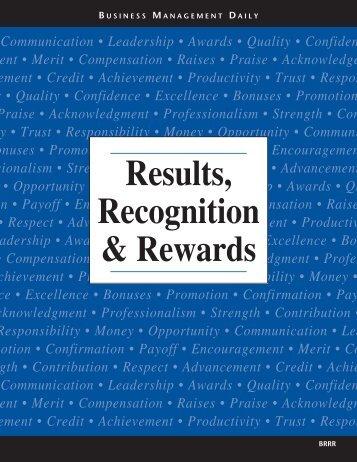 Productivity • Trust • Responsibility • Money • Opportunity ...