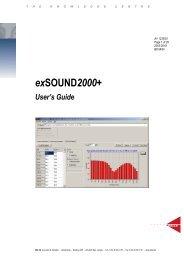 Download exSOUND2000+ User's Guide (PDF: 500 KB) - DELTA