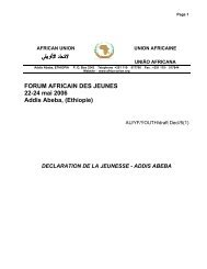addis abeba - African Union