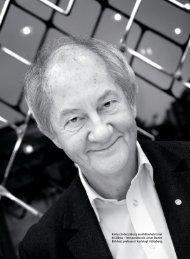 inte parodontit, anser Dowen Birkhed, professor i kariologi i Götebor