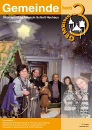 Ausgabe 13 • Dezember 2011 - Kath. Kirchengemeinde St. Heinrich ...