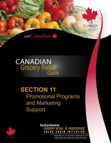 SECTION 11 - Saskatchewan Grocery Retail and Foodservice Value ...