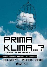 KLIMA PRIMA - Eine Welt Netzwerk Hamburg eV