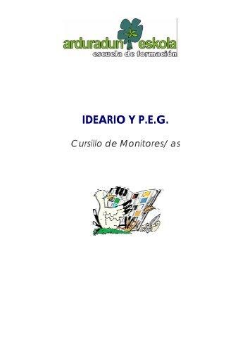 IDEARIO Y P.E.G. - Scouts MSC