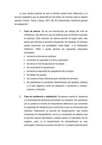 Estres-fases - Página principal