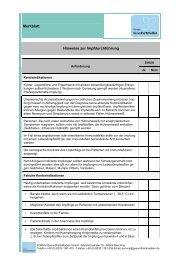Hinweise zur Impfdurchführung - Forum Gesundheitsmedien