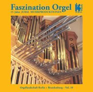 Faszination Orgel - M. Jung