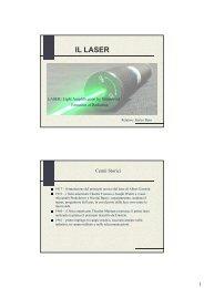 Radiazioni Ottiche Artificiali laser