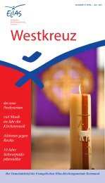 Westkreuz 19, April - Juli 2012 - Evangelische Elias ...