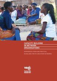 Capacity Building in Network Organisations (2530KB) - VSO