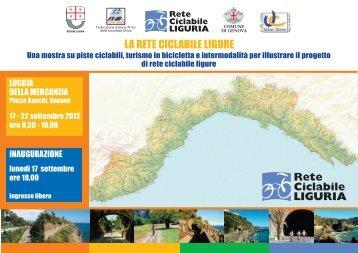 La rete ciclabile ligure - Urban Center - Comune di Genova