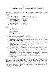 Protokół z posiedzenia Komisji Balonowej ... - Lotnicza Polska