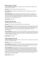 Presentation board members - Tradedoubler