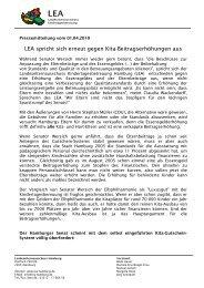 2010-04-01-PM-WEB-LEA-spricht-sich-gegen-Kita ... - Der LEA