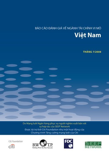 Việt Nam - Banking with the Poor Network