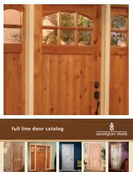 Woodgrain 2013 Full-Line Brochure - Huttig Building Products
