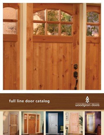 Woodgrain 2013 Full-Line Brochure - Huttig Building Products
