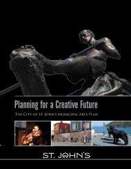 Municipal Arts Plan - City of St. John's