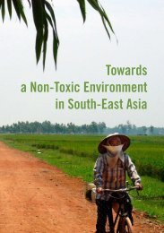 Towards a Non-Toxic Environment in South-East Asia