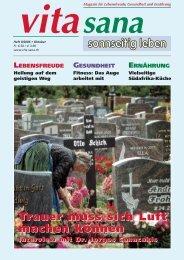 Die vollständige Oktober Ausgabe als Acrobat PDF - vita sana Gmbh