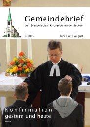 Zur direkten Ansicht des neuen Gemeindebriefes - Evangelische ...