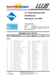 Rangliste Gesamt Herren + Damen, inkl. Kategorien 2007 - LWS ...