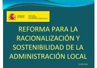 Administración Local - La Moncloa