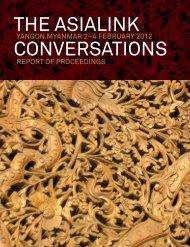 Download the Asialink Conversations, 2012 Myanmar Report