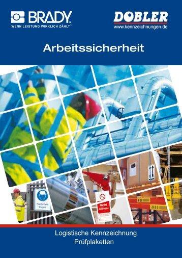 Katalog Prüfplaketten - Dobler GmbH Dobler GmbH