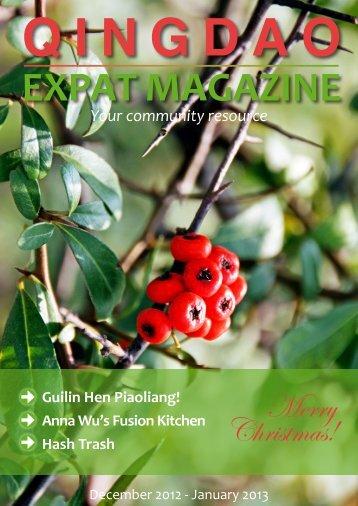 Qingdao Expat Magazine Dec. 2012-Jan.2013 Combo (6.66MB)